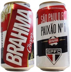 Brahma São Paulo FC Paixão nº 1