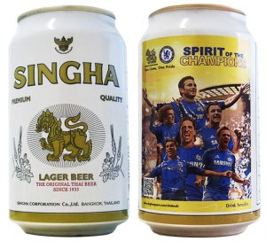 Chelsea FC - Singha