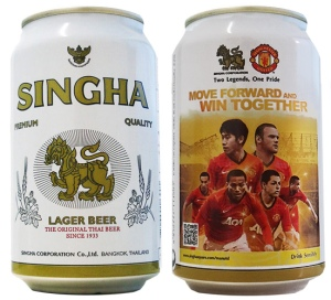 Singha Manchester United 2012